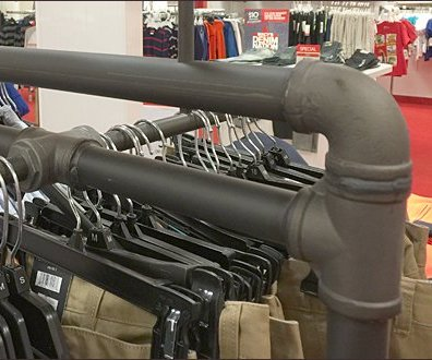 Tommy Hilfiger Iron Pipe Rack 3