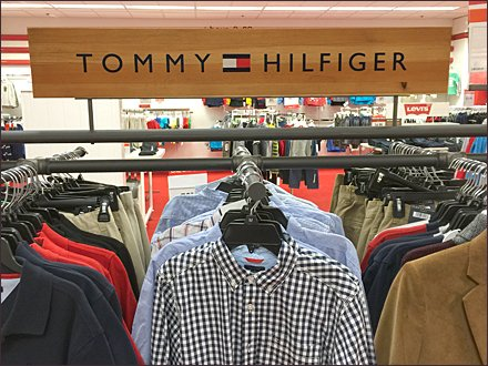 Tommy Hilfiger Pipe Fitting Array