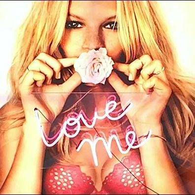 Victoria's Secret Neon Love Me Main