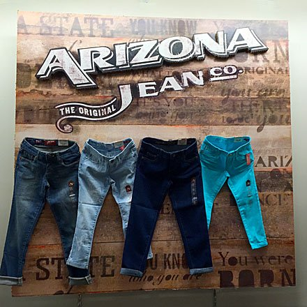 Arizona Jean Company Merchandising - Arizona Jean Branded Billboard
