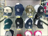 Baseball Cap Tray Decline Tip-of-the-Hat