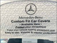 Mercedes-Benz Miniature Custom Car Cover Closeup