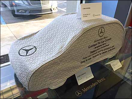 Mercedes-Benz Miniature Custom Car Cover