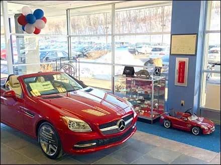 Mercedes Benz Sports Car BOGO Two-fer