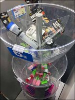 Plastic Bowl, Bulk Bin Tower