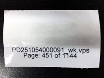 Weis 1144 Pages of Label Changes