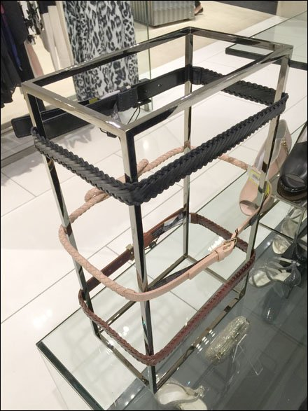 Belts on Square Space Frame Main