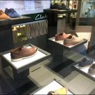 Cantilevered Shoe Pedestals Dark on Light 1