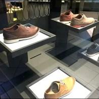 Cantilevered Shoe Pedestals Dark on Light 2