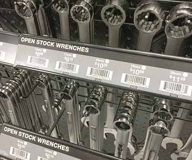 Cascade of Hooked Wrenches 3