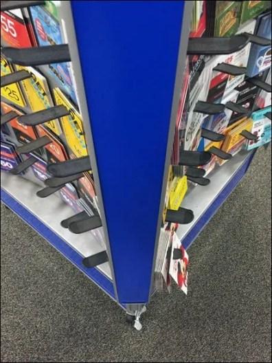Curved Prepaid Card Center 3