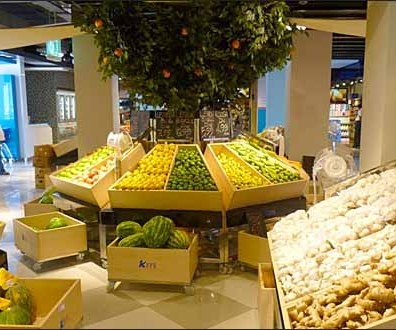 Euro Fixture Wood Produce Wedges 2