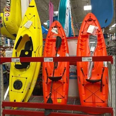 Kayak Pallet Rack Vertical Display