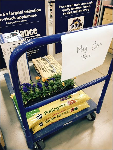 Lowes Monthly Transport Cart Test