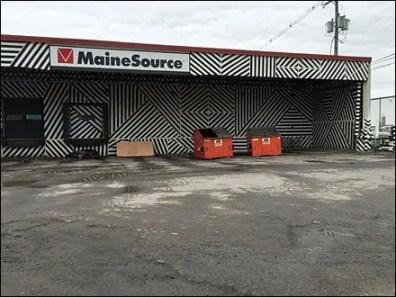 Maine Source Dazzle Paint Loading Dock 2
