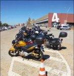 Motorcycle Parking, Paco Underhill, Design Retail Apr-May 2015