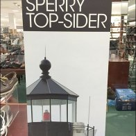 Sperry Top-Sider Lighthouse-Branded Boaters