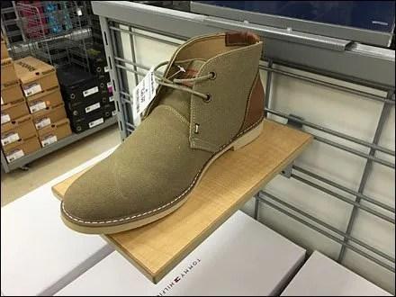 Tommy Hilfiger Slatwire Wood Shoe Ledge 1