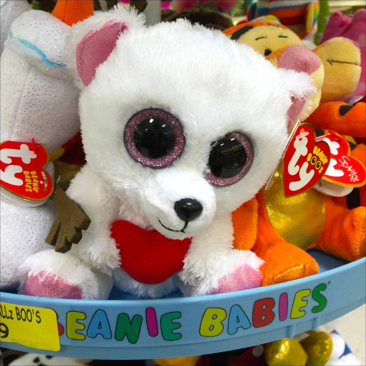 Beanie Baby Branding Above and Below