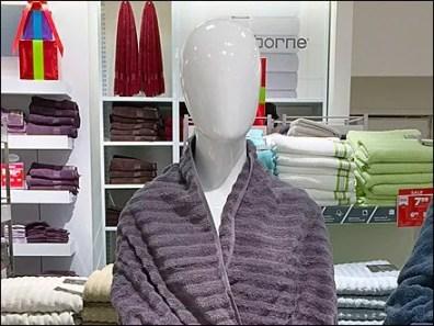 Bath Towel Drape 3