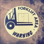 Forklift Area Warning Main