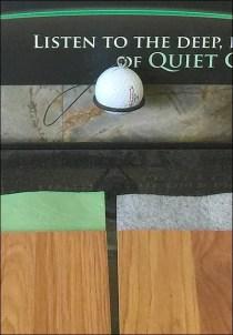 Golf Ball Sounding Board Freestanding 3