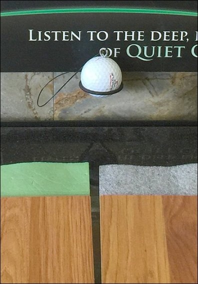 Golf Ball Sounding Board Freestanding 3