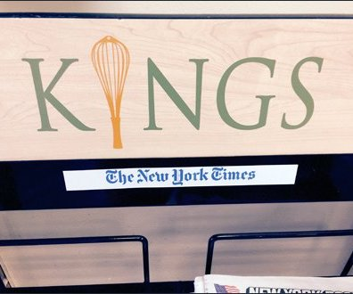 Kings Newstand Branded