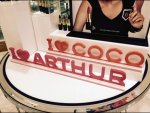 Love Coco, Love Authur Closeup
