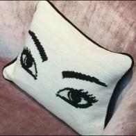 Made You Look Pillow 3