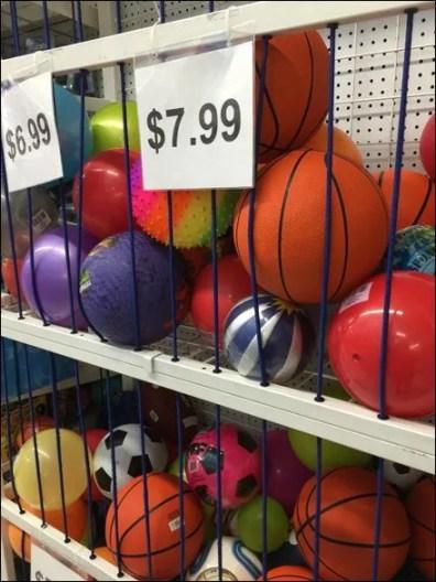 Rope-Access Bulk Bin for Balls