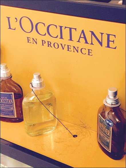 L'Occitane Security Tethered Testers