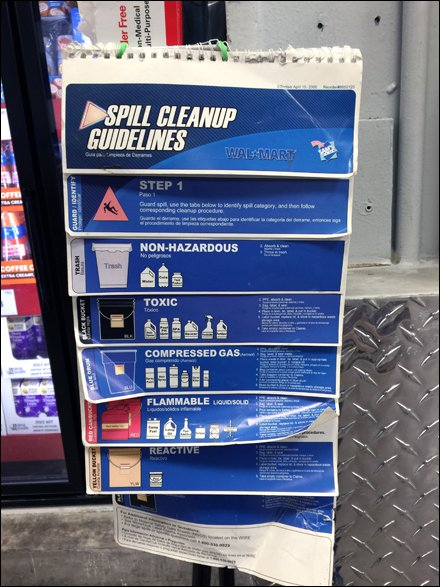 Professional Spill Cleanup Guidelines for Retail