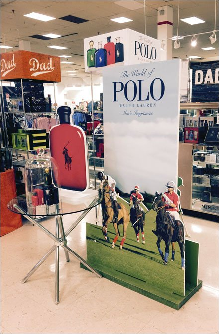 World of Polo Foamcore 3D Display