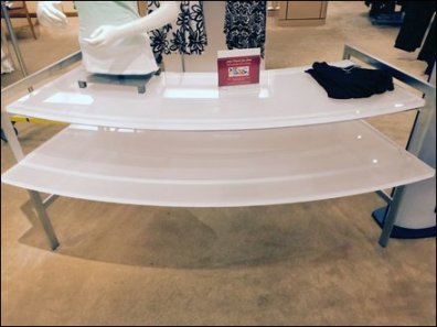 Curved Gl;ass Table 2