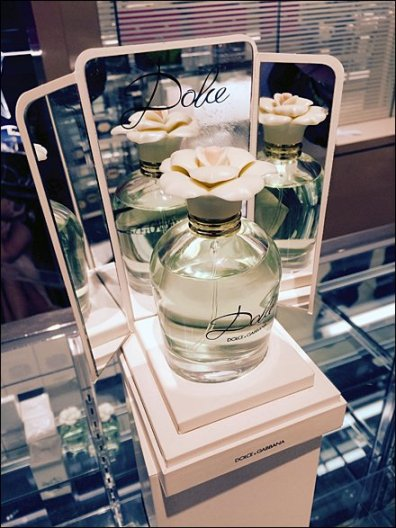 Dolce-Gabbana Mirrored Fragrance Pedestal