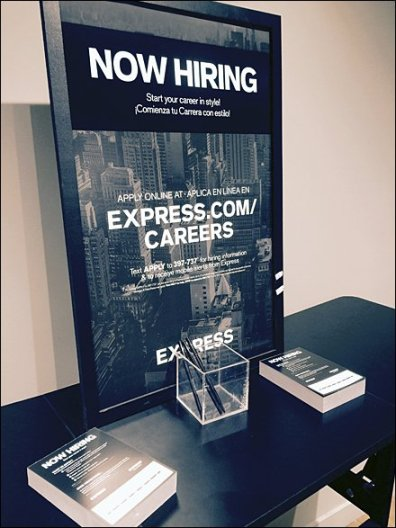 Express® Mobile Hiring Cart 2