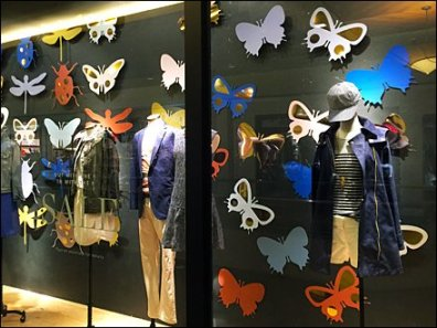 Insect Die Cuts Window Dressing 2