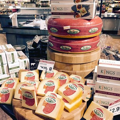 Kings® Cheese Wheel Tower Overacll