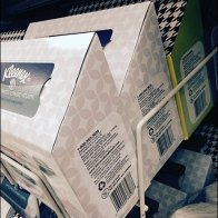Kleenex Shelf-Top Gravity Feed 3