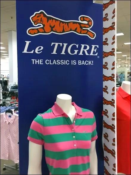 Le Tigre Branded Front