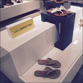 Liz Claiborne Wrap Around Pedestal