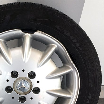 Mercedes Wheel Protection Prop Main
