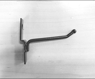 Metal Flatback Corrugated Hook 5
