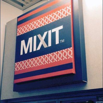 Mixit Corrugated Dimensinal Sign 2