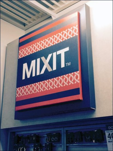 Mixit Corrugated Dimensinal Sign 2