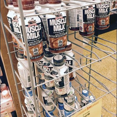 Muscle Milk Bottle Hang 2