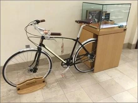 Shinola Vintage Bicycle Display