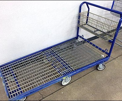 6-Wheel Shopping Dolly