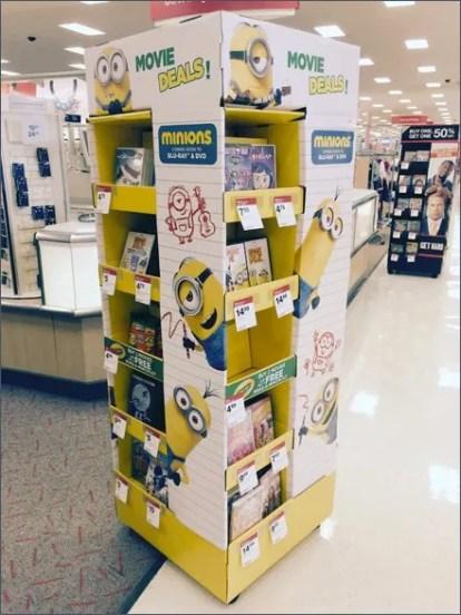 Minion Mascot Back-To-School Merchandising